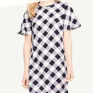 《Ann Taylor》 Check dress